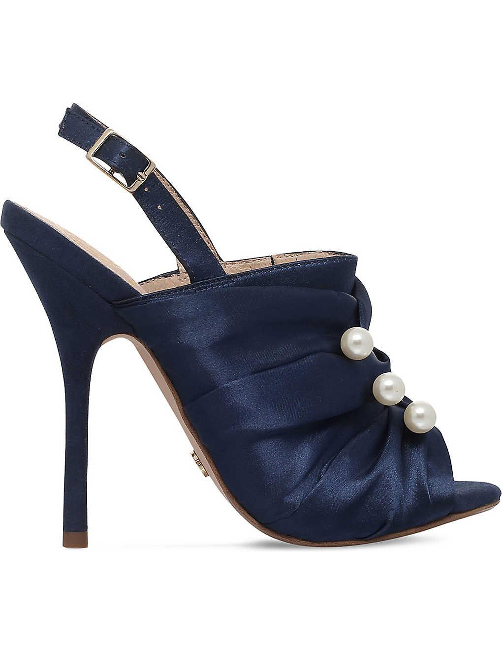 9af0200a23710 KG KURT GEIGER - Jem satin slingback sandals