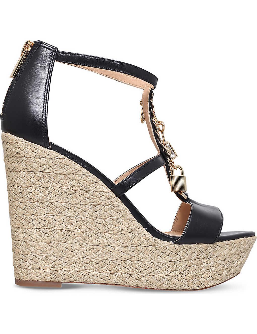 028fe786726e6 MICHAEL MICHAEL KORS - Suki leather platform sandals