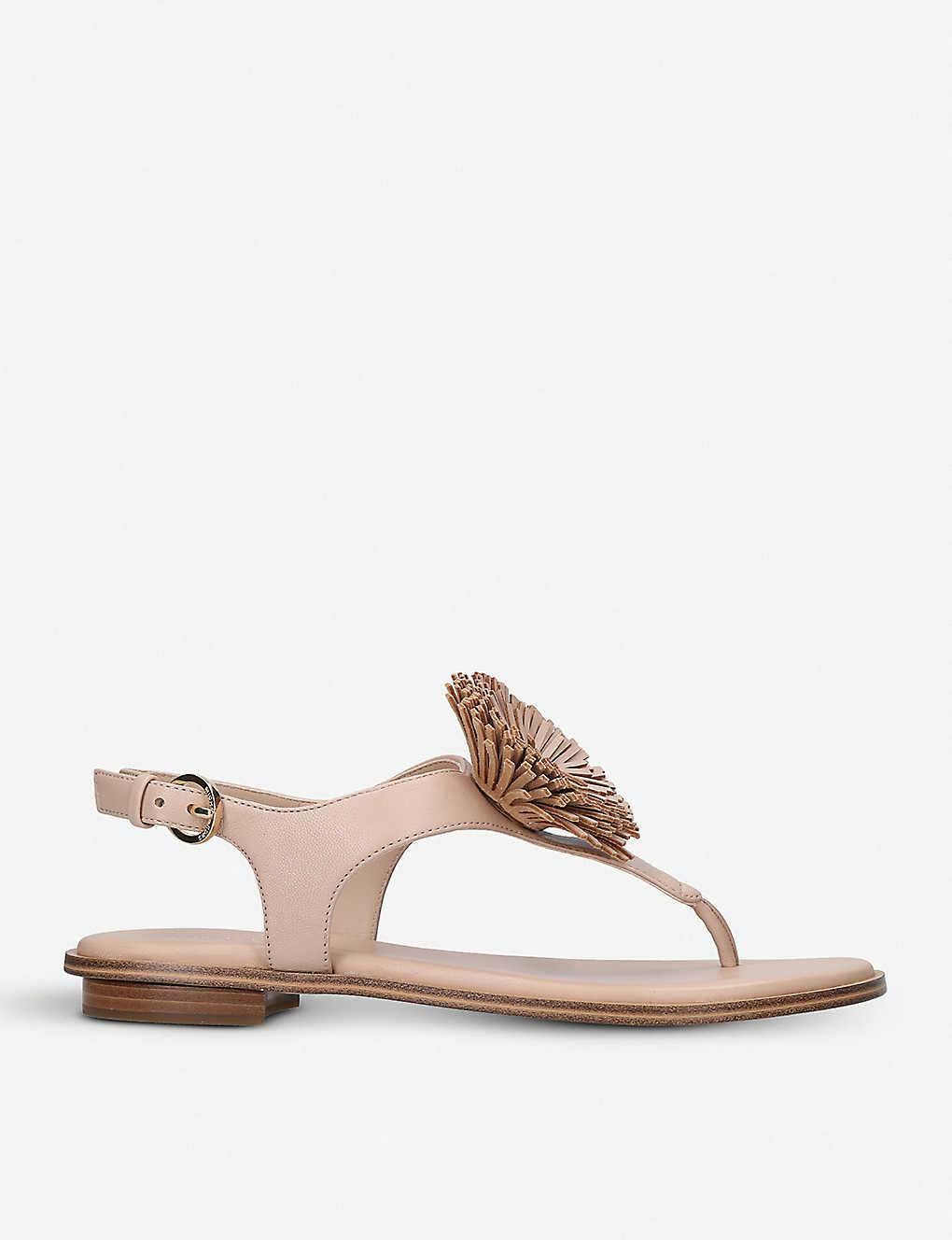 f70c29a9f6fe MICHAEL MICHAEL KORS - Lolita leather sandals