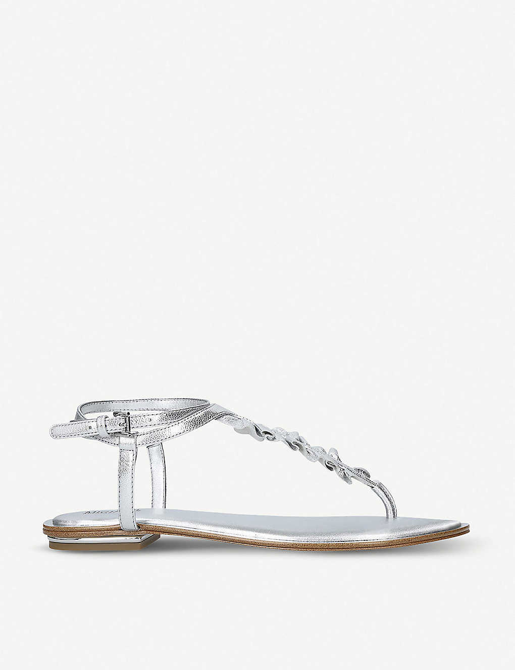 98d8672f89ec7 MICHAEL MICHAEL KORS - Bella leather sandals