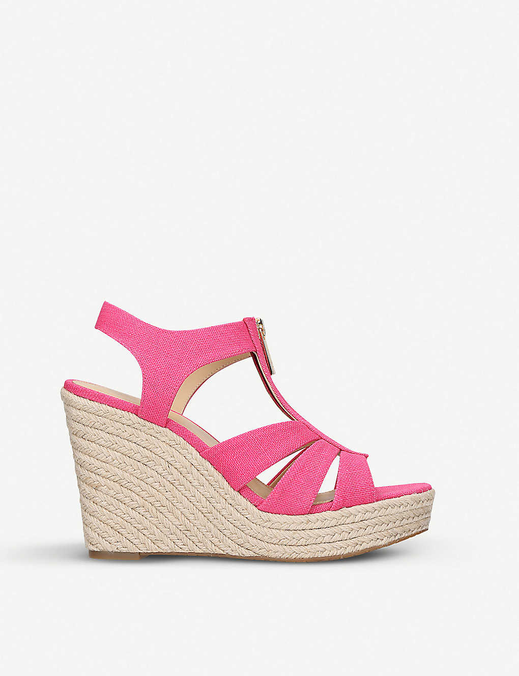 9adb844cf6e8 MICHAEL MICHAEL KORS - Berkley jute-wedge sandals