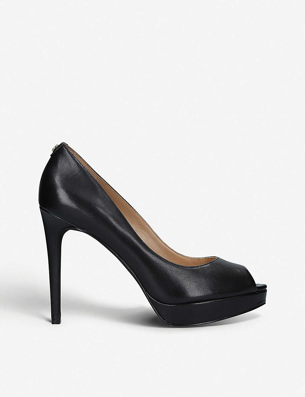 ef563e268644 MICHAEL MICHAEL KORS - Erika leather platform heels