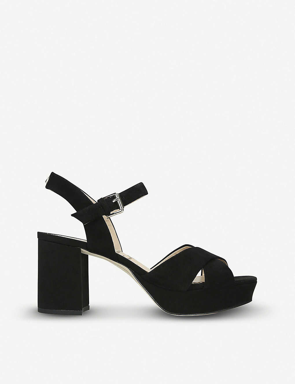 d11fa80a5c89 SAM EDELMAN - Jolene suede platform sandals