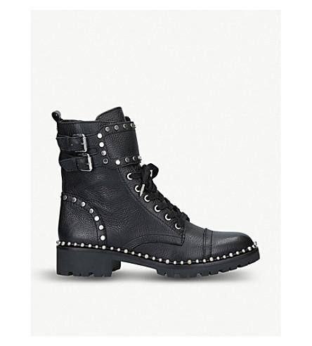 1277aedd152671 ... SAM EDELMAN Jennifer leather combat boots (Black. PreviousNext