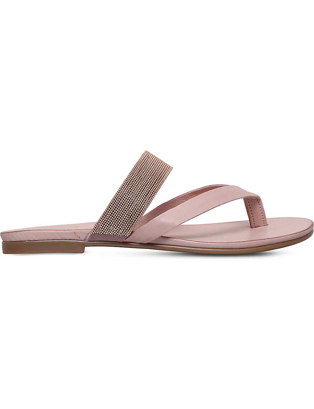 1926d7dacef3b KG KURT GEIGER - Mae leather sandals