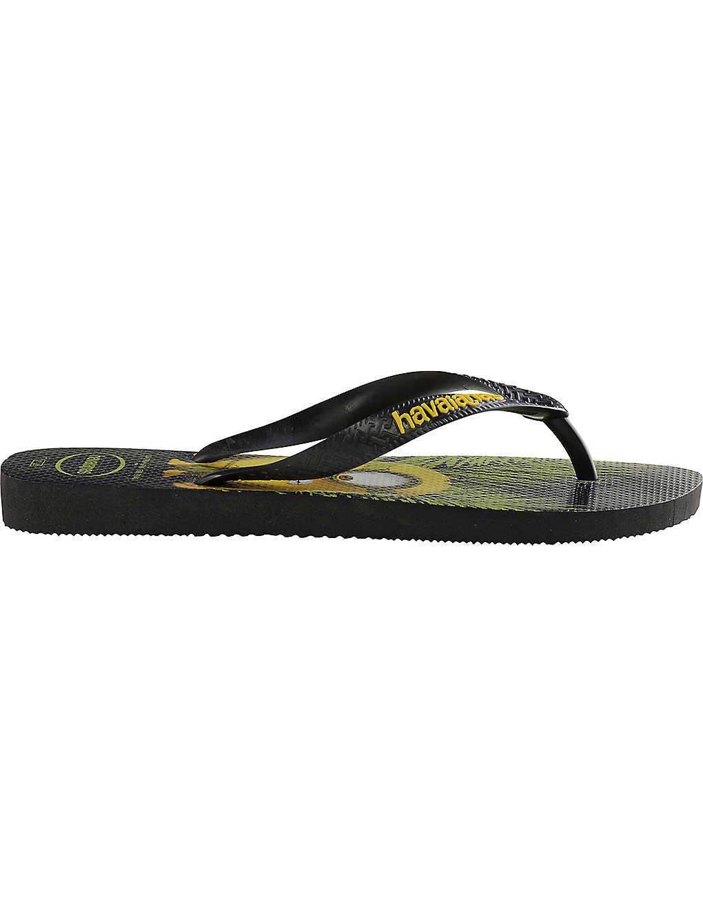 18e9220e3bf445 HAVAIANAS - Minions flip-flops