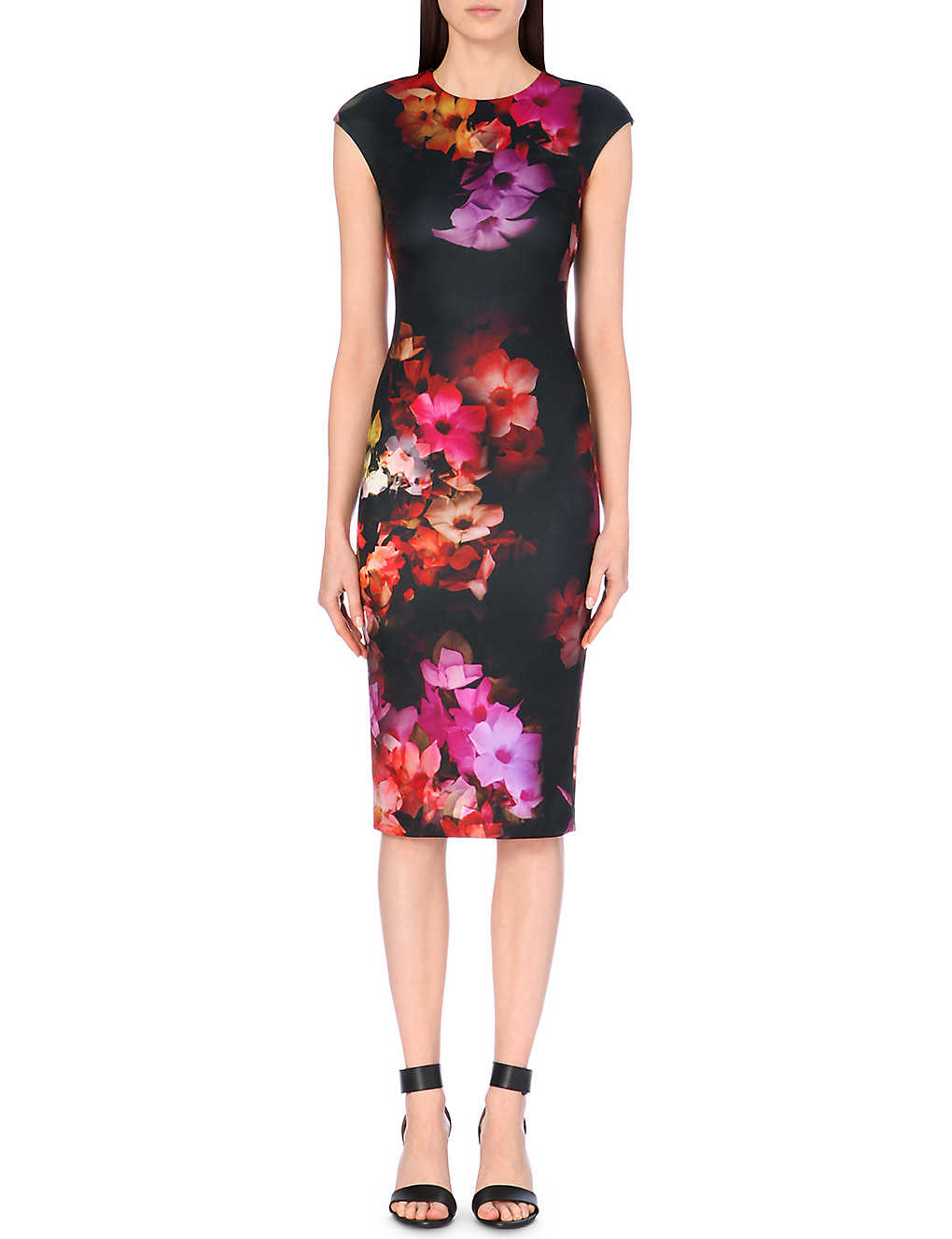 d76bcff97c4f5 TED BAKER - Catina floral-printed dress