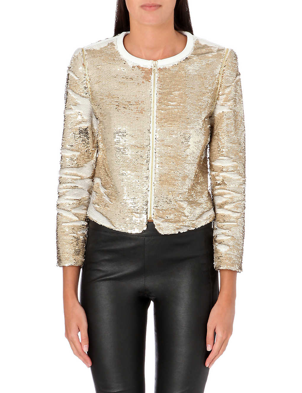 d3f32337eb8f64 TED BAKER - Blubele sequinned jacket