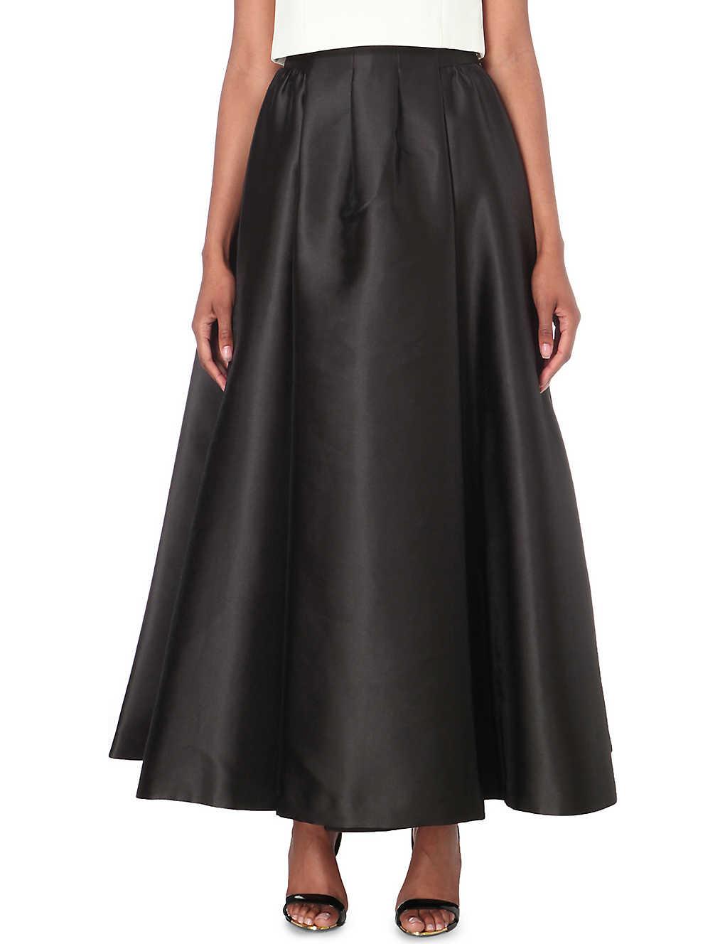 c64f5c6d72a4 TED BAKER - Isala satin maxi skirt