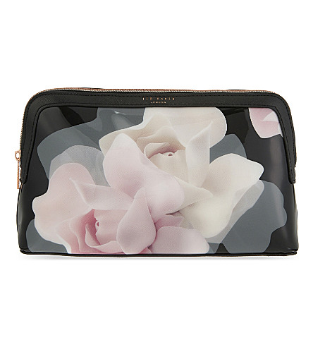 bed02070a ... TED BAKER Olliia Porcelain Rose large wash bag (Black. PreviousNext