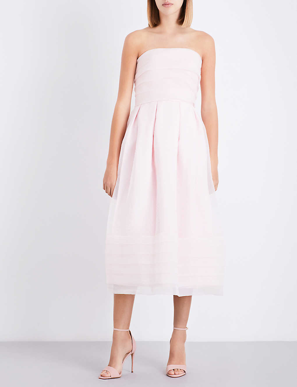 a91daef493bf57 TED BAKER - Bandu tiered chiffon maxi dress