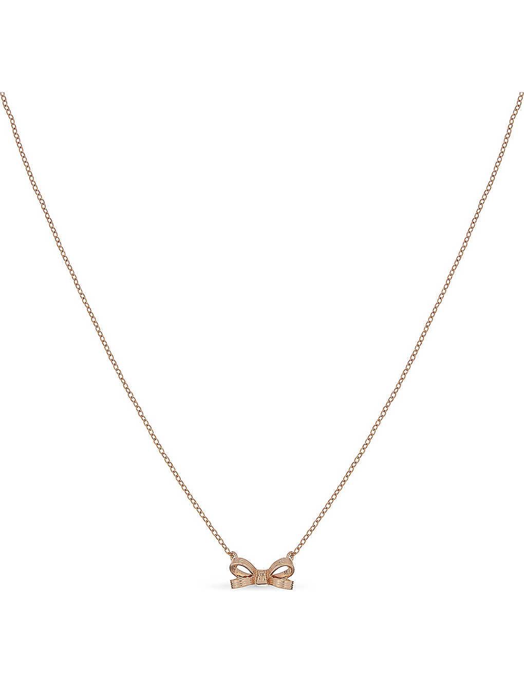 11c4052dd60 TED BAKER - Oppela mini bow pendant necklace