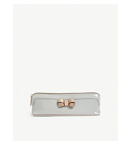 91c89b6ba08e TED BAKER - Lora patent faux-leather pencil case | Selfridges.com