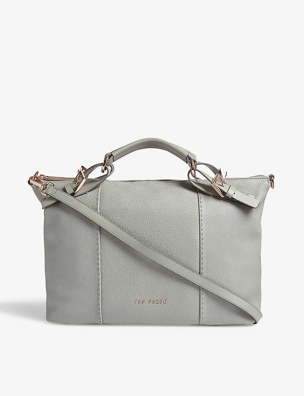 c25412be0189 TED BAKER - SALBEE bridle handle leather tote