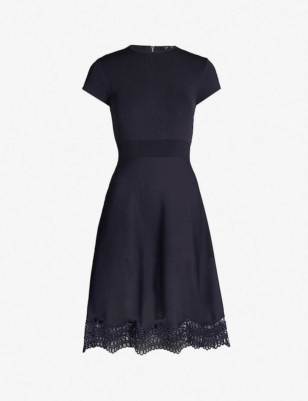 59ad1b1168a67 TED BAKER - Ellijo lace trim dress