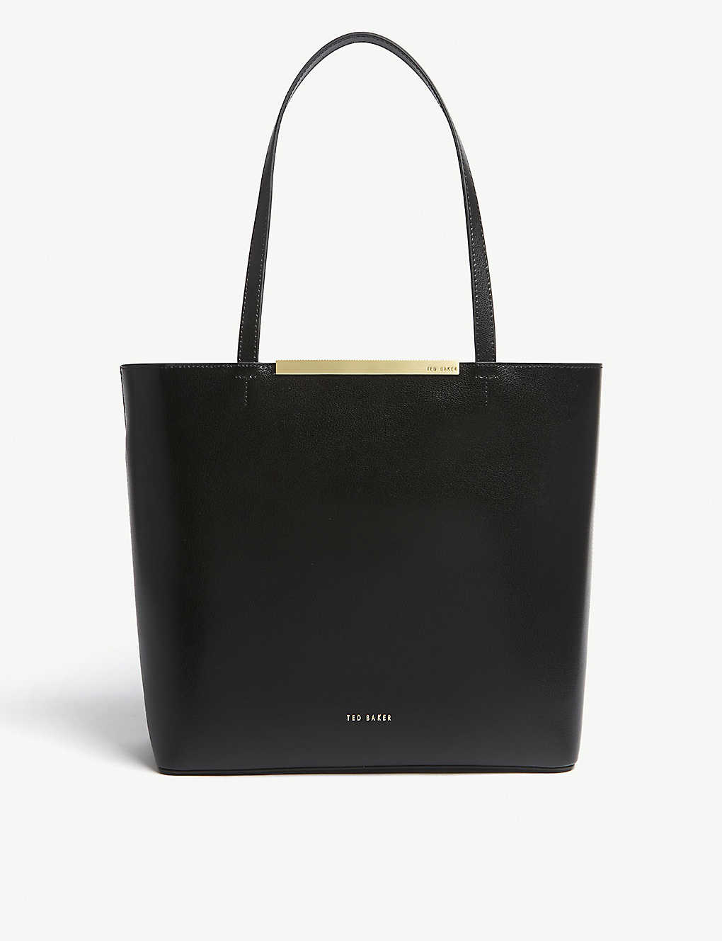TED BAKER - Melisa large leather tote  f8be6fb9ac6dd