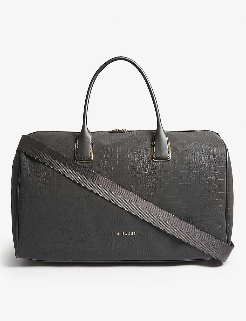 190187f79555 TED BAKER - Conneli croc-effect duffle bag