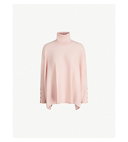 a0cc1f2fafb5 TED BAKER - Buttoned-cuff roll-neck knitted jumper
