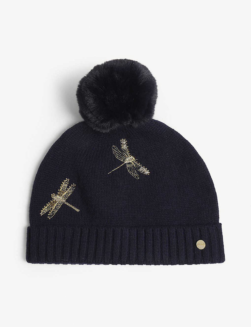 150d57441a4ea TED BAKER - Wendel dragonfly pom beanie
