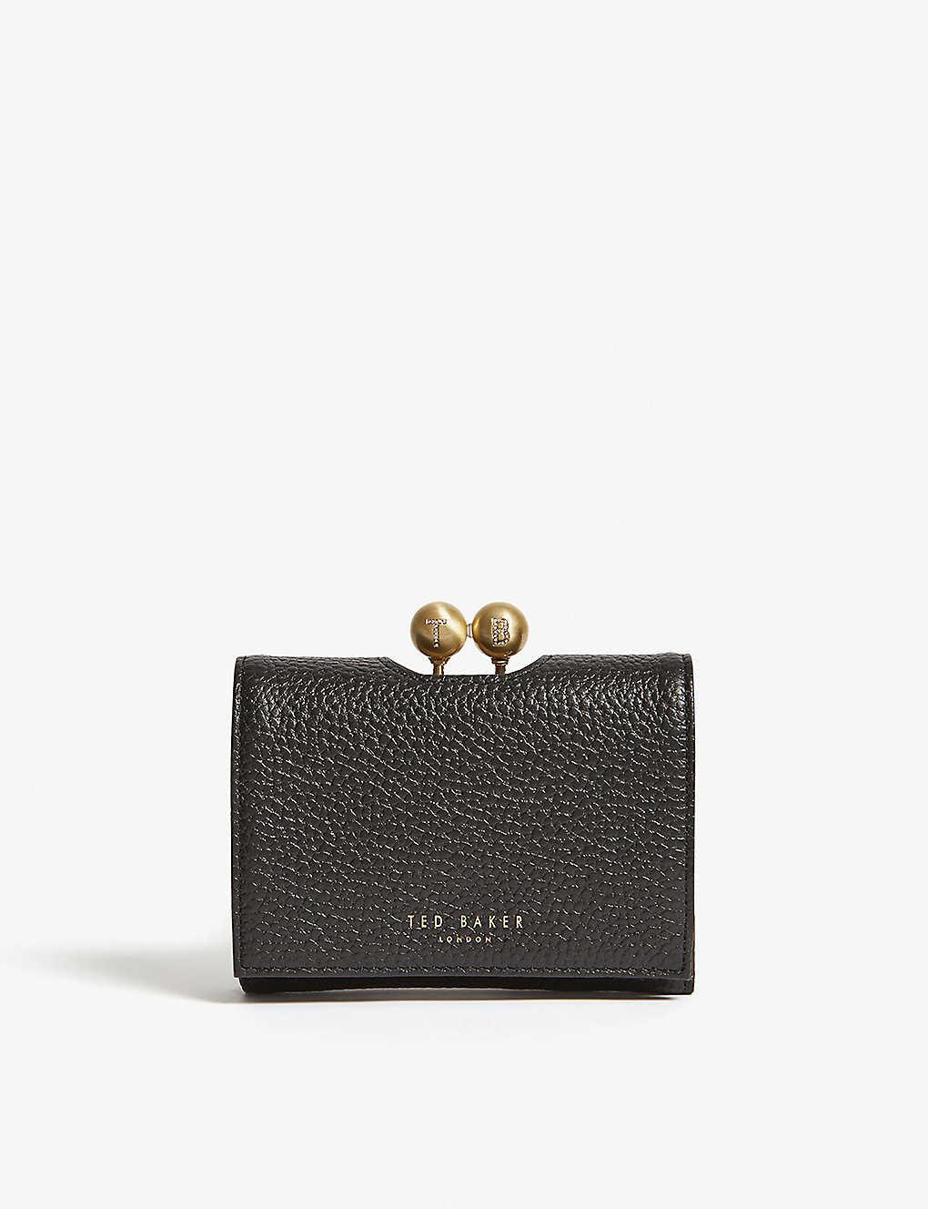 1bf612398a23 TED BAKER Maciey pavé leather mini purse
