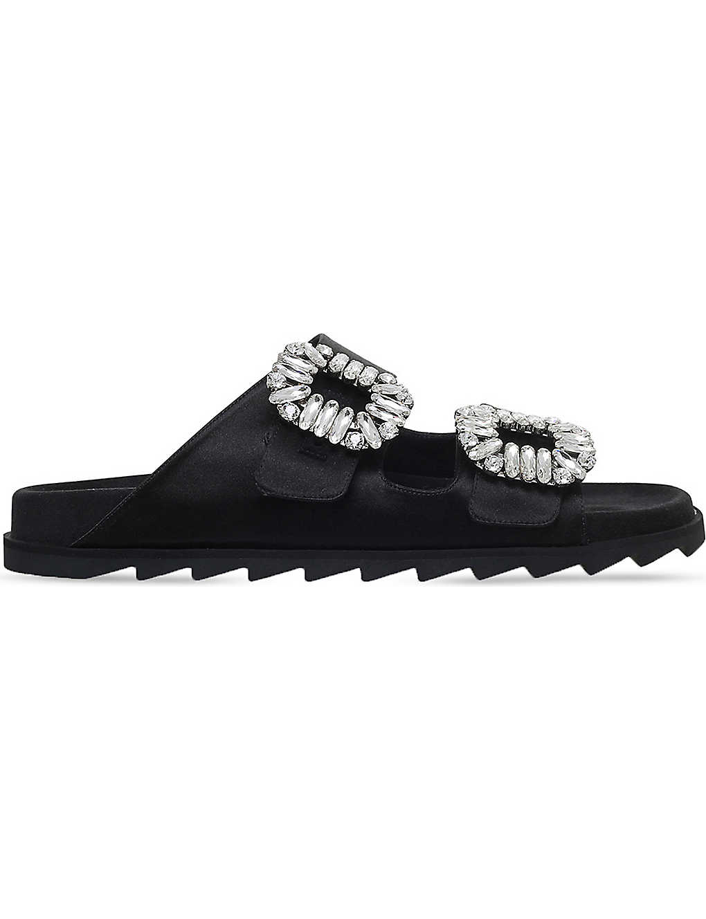 7d78759516e8 ROGER VIVIER - Viv silk-satin slider sandals