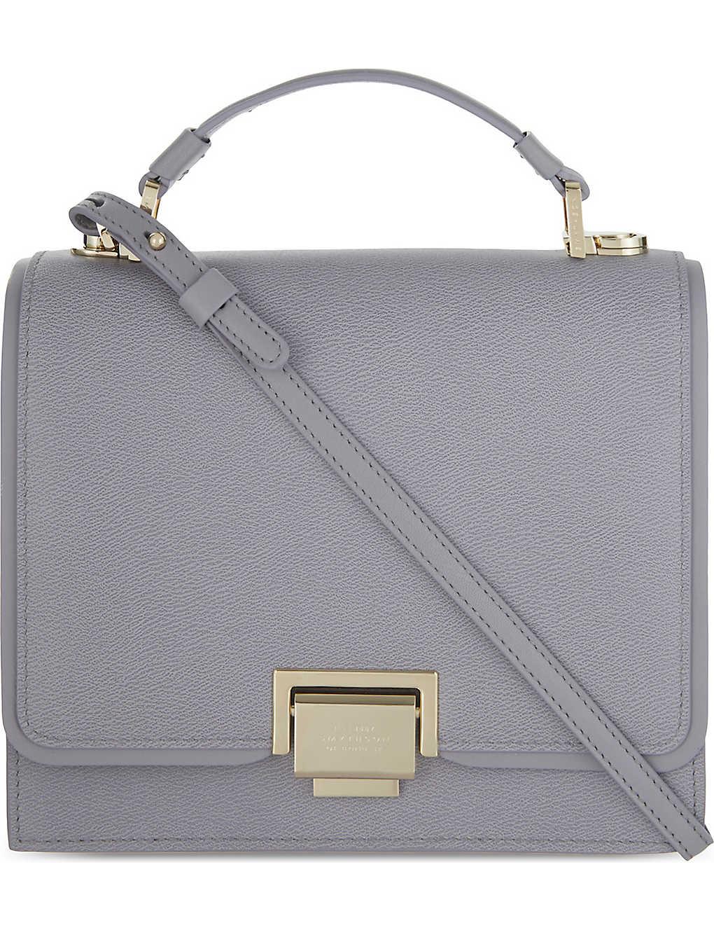 SMYTHSON - Grosvenor mini leather cross-body bag  466a52ea6e355
