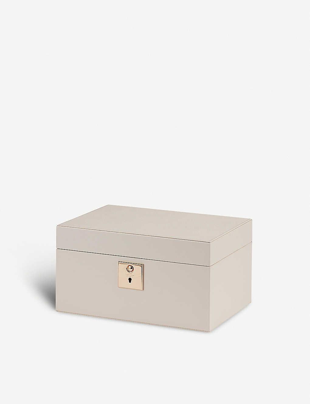 232bbf5f758c SMYTHSON - Grosvenor leather jewellery box with travel tray ...