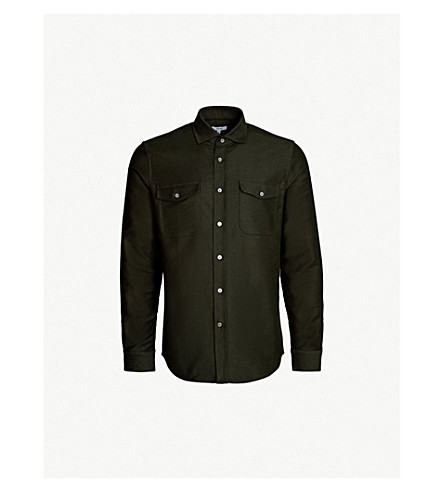 REISS - Boscelli slim-fit cotton shirt  4fcb5f10ab43a