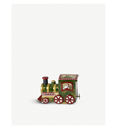 f8482cb32515f VILLEROY   BOCH - Nostalgic Melody North Pole Express porcelain musical  ornament 13cm