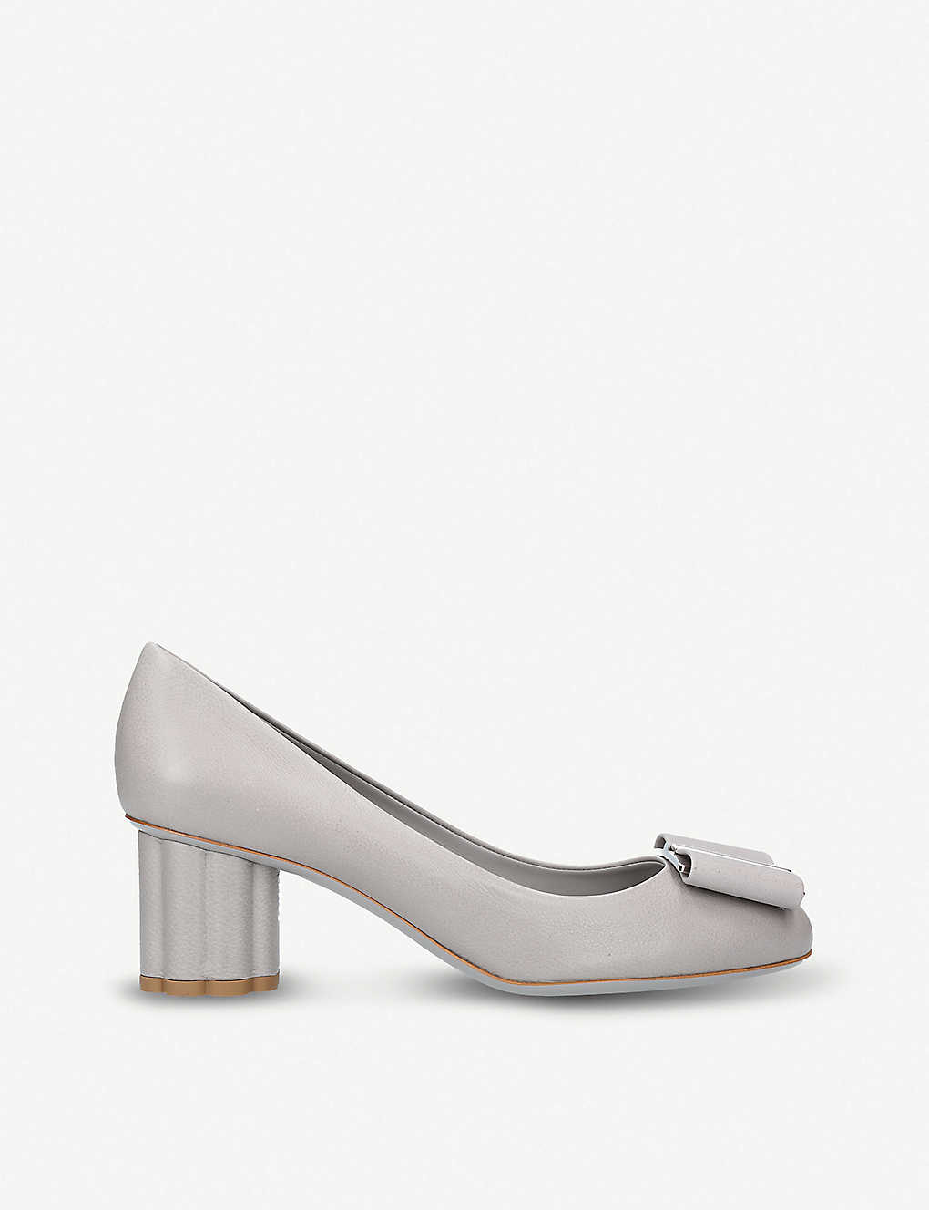 c8f2e44af31ce SALVATORE FERRAGAMO - Capua bow-detail leather pumps