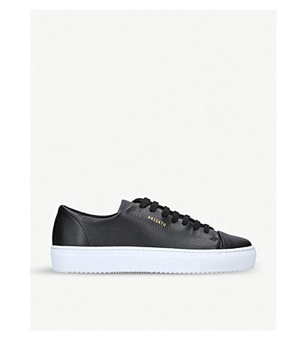 7495f46765da ... AXEL ARIGATO Cap-Toe textured leather sneakers (Black. PreviousNext