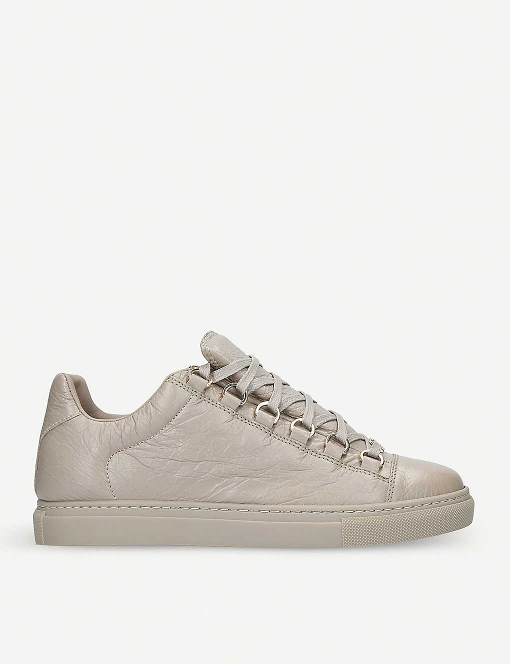 84712c12295d BALENCIAGA - Arena leather low-top trainers