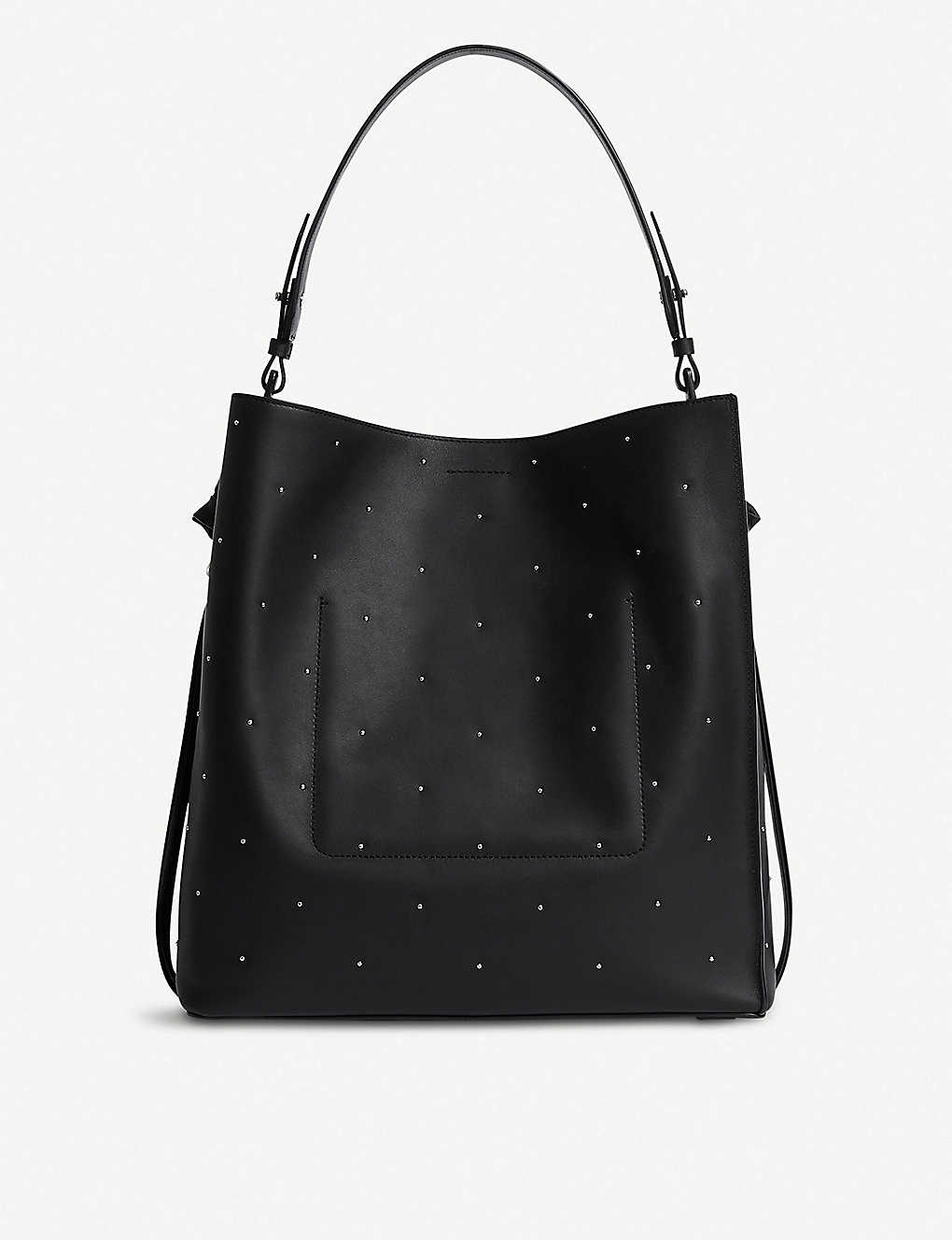 dbeced74e7 ALLSAINTS - Kathi North South small leather tote bag