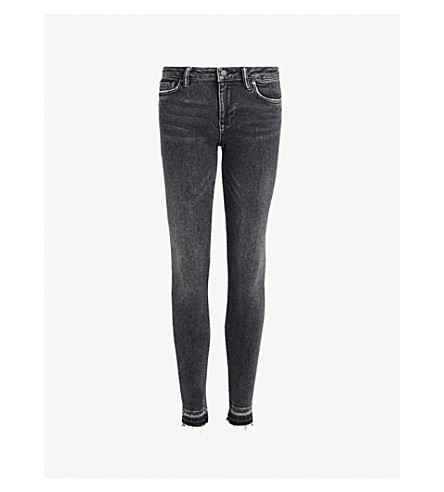 ... ALLSAINTS Mast low-rise skinny jeans (Washed+black. PreviousNext 00956e358