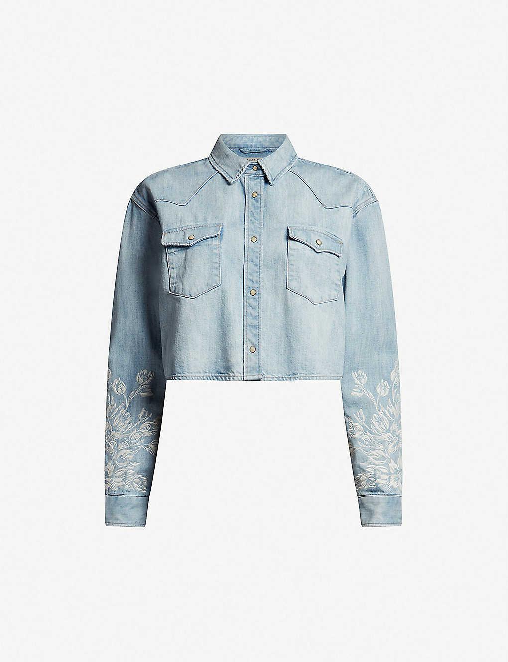 1f96de6329 ALLSAINTS - Flora Cannon denim shirt