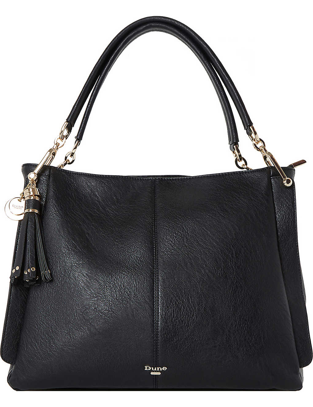 DUNE - Disobelle slouch faux-leather shoulder bag  b3e78c792d787