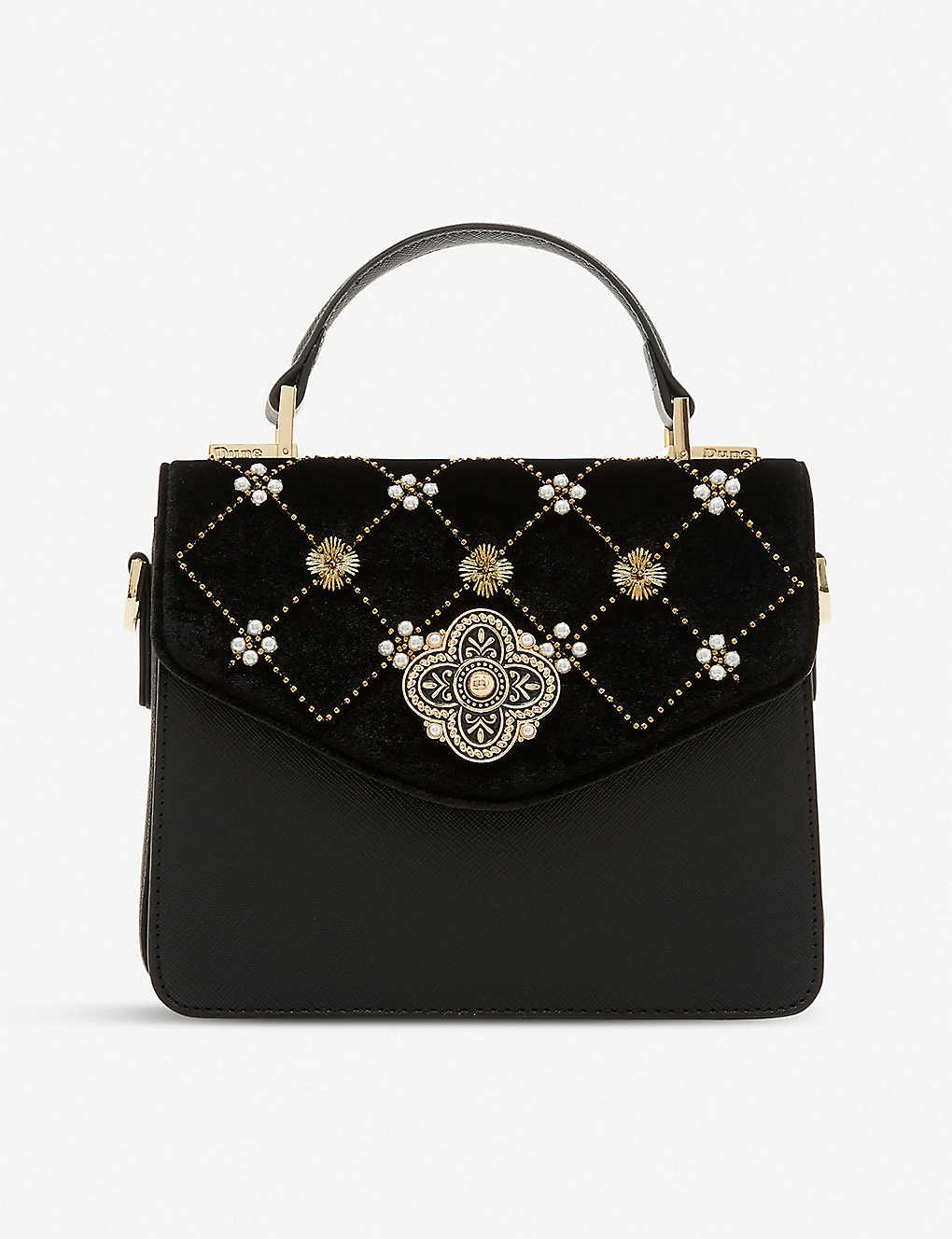 DUNE - Daarabia embellished quilted shoulder bag  ff5c586f53989