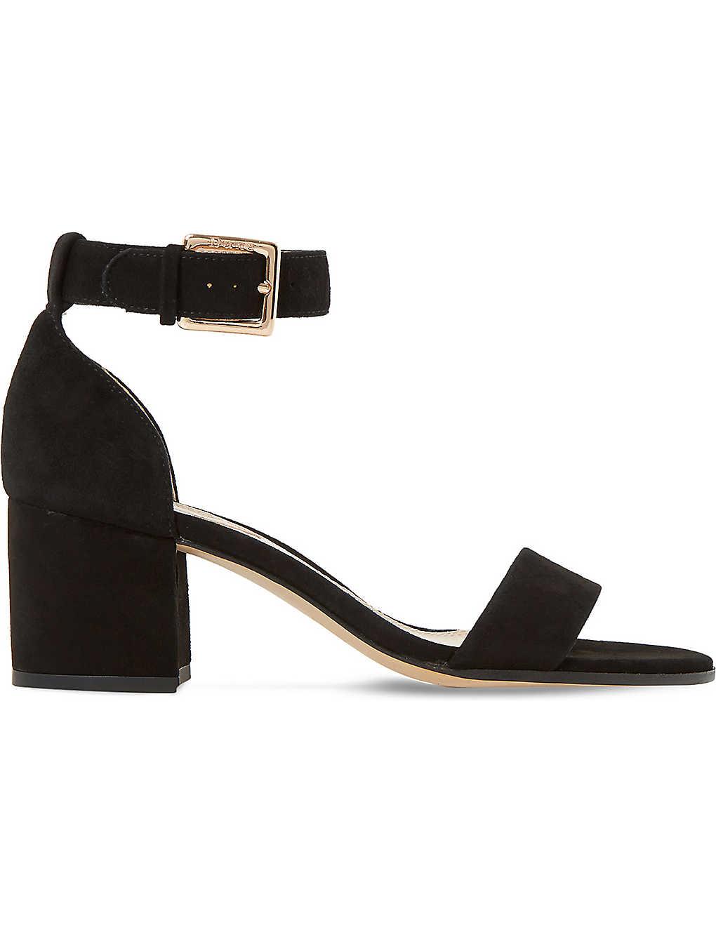 c322489314f9 DUNE - Jaygo suede heeled sandals