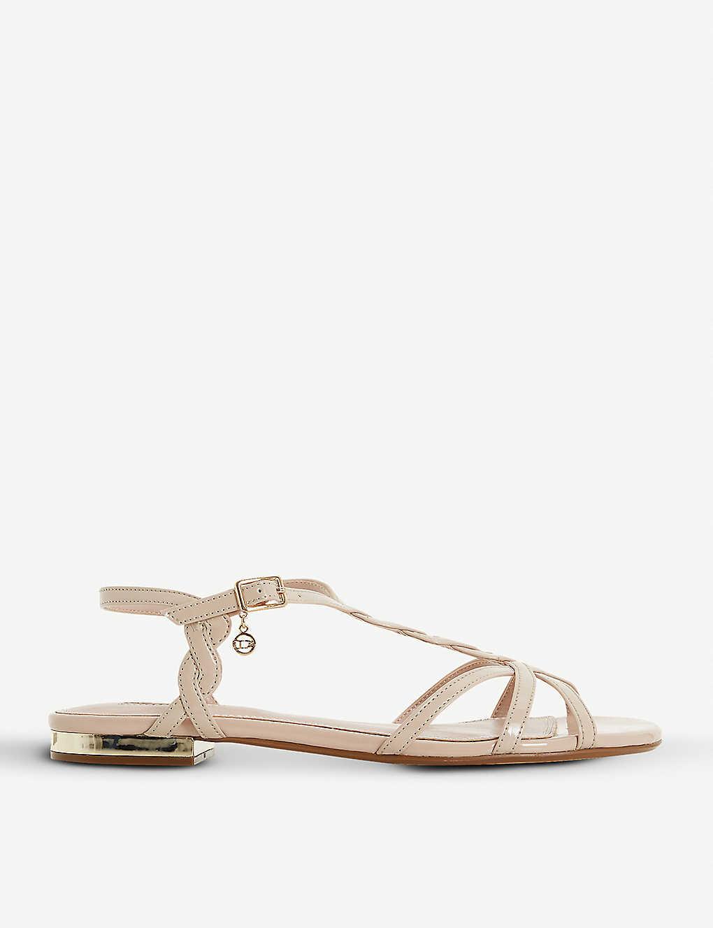 13d930c63bbb DUNE - Newark strappy metallic sandals