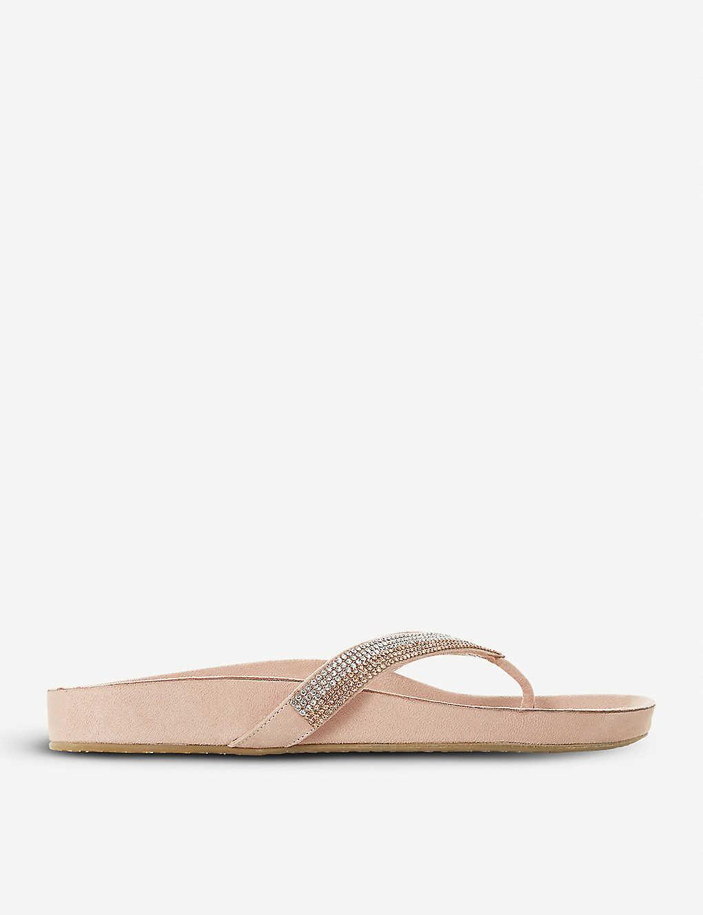 463a1056fb48b DUNE - Noticed embellished sandals