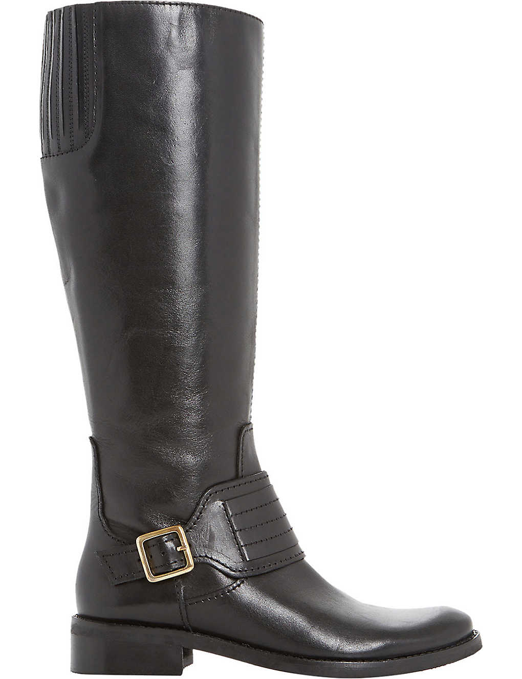 e1753bec4ad DUNE - Una leather riding boots