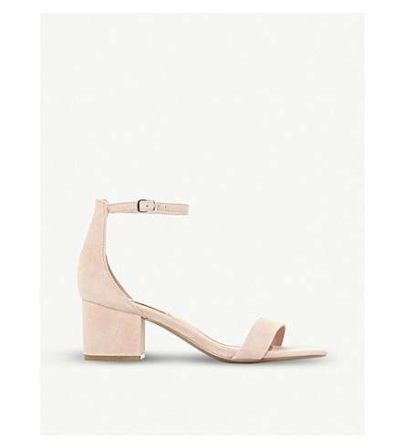 e67a3c8ad45 ... Irenee suede heeled sandals (Pink-suede. PreviousNext