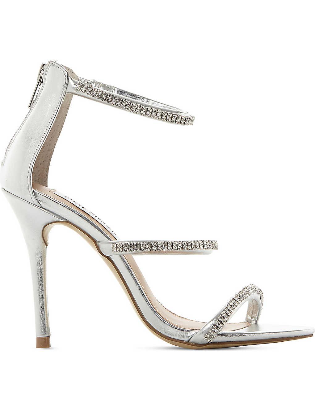 276d554b216 STEVE MADDEN - Wren-R metallic strappy sandals