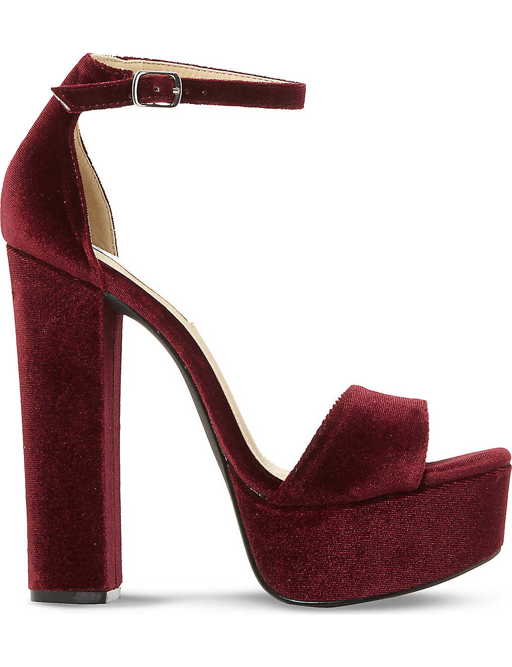 2b0a8ed3a29 STEVE MADDEN - Gonzo velvet platform sandals