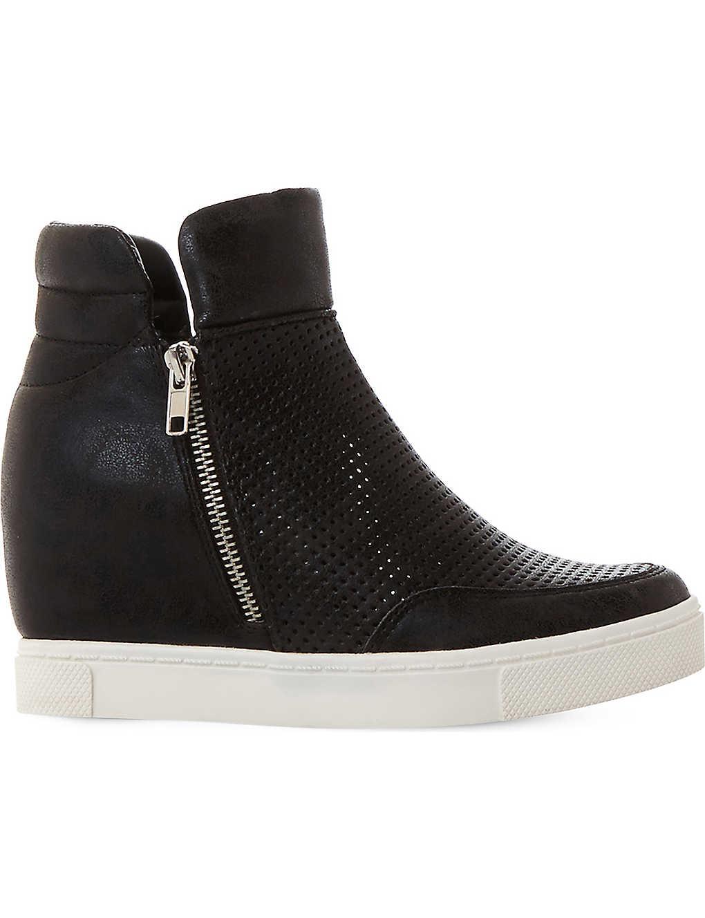 6cc76ef38b8 STEVE MADDEN - Hidden perforated wedge sneakers