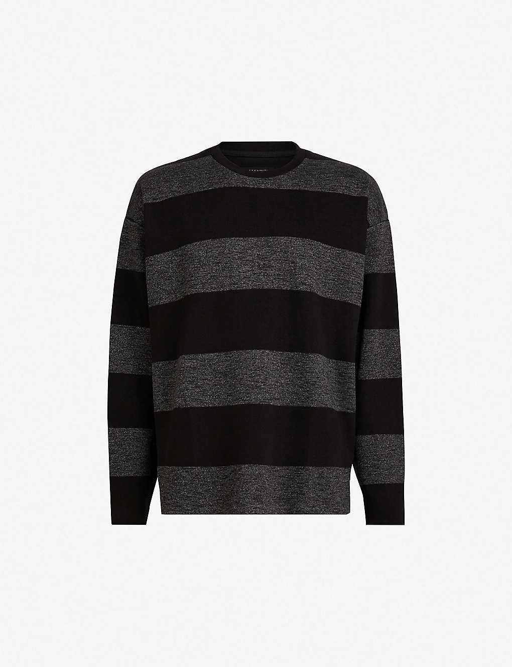 d869f505a ALLSAINTS - Bendela striped knitted sweatshirt
