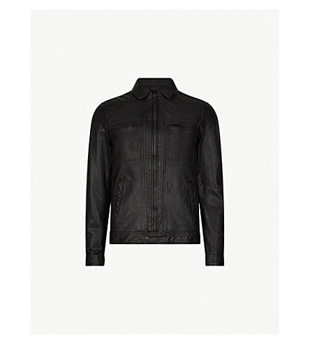 ... ALLSAINTS Lark leather jacket (Black. PreviousNext 1ca733bb6
