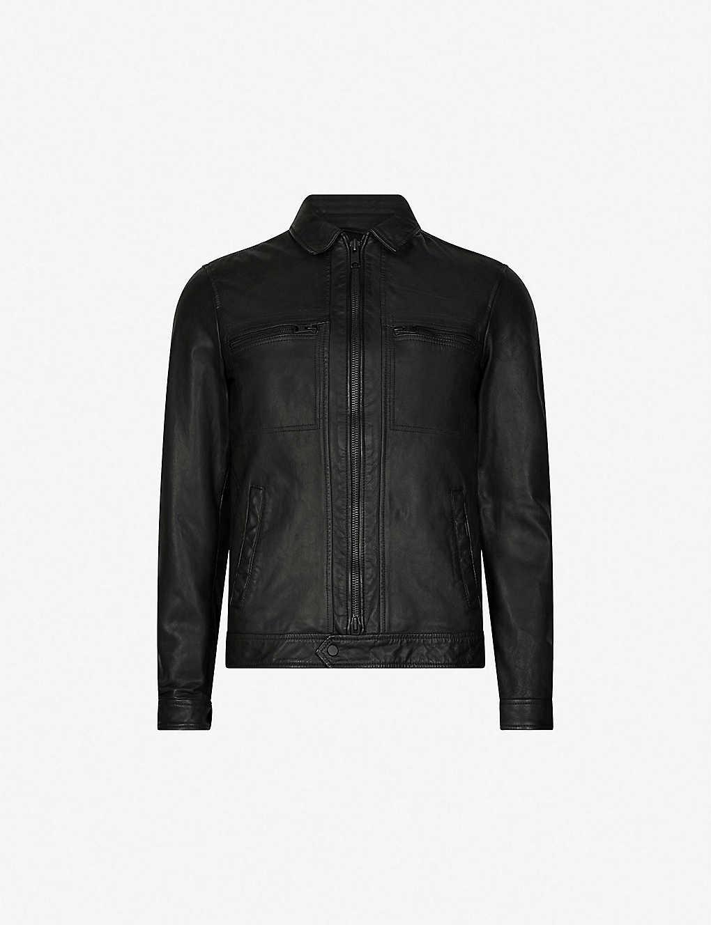 ALLSAINTS - Lark leather jacket  1ae6d97b3
