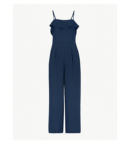 7a1de62ec4c REISS - Frankie bow-back crepe jumpsuit