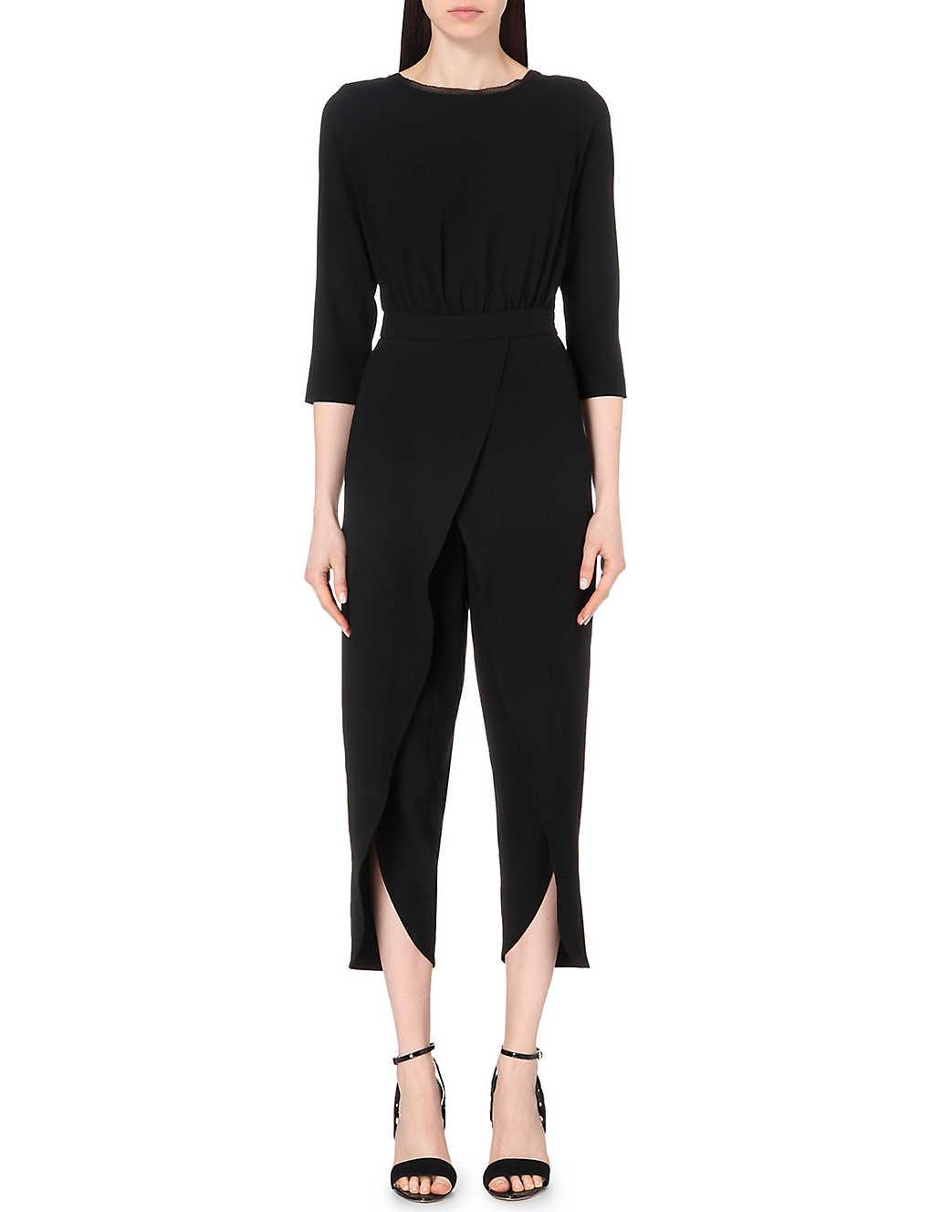 2b0297748ce REISS - Flo crepe jumpsuit